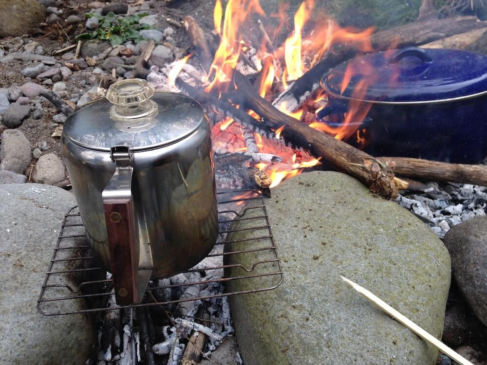 焚き火カフェ