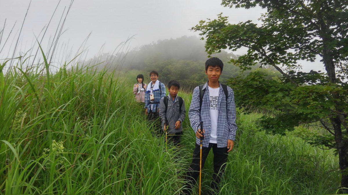 """山梨百名山""""横尾山""""トレッキング"""