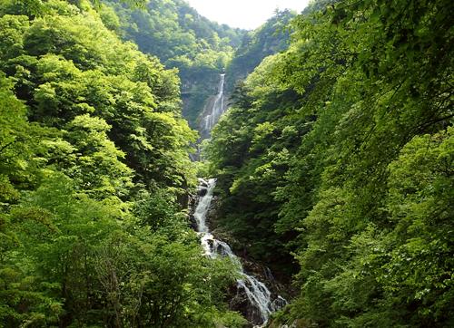 日本の滝百選、精進ヶ滝トレッキング