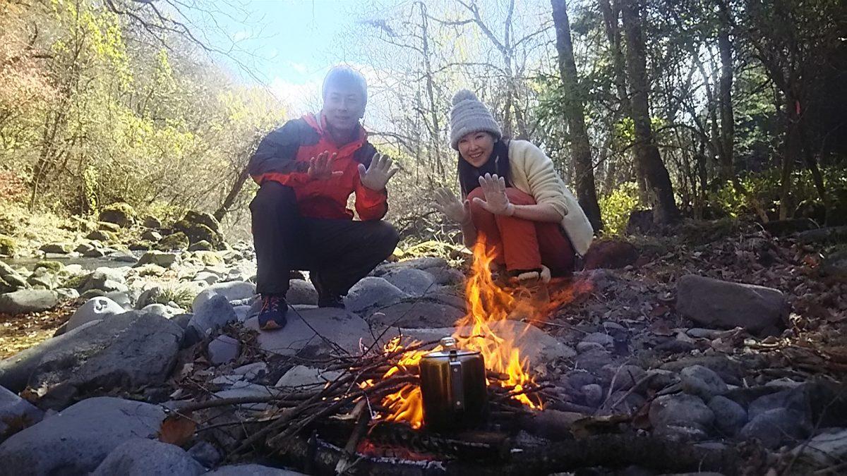 焚き火カフェで秋の八ヶ岳を満喫☆