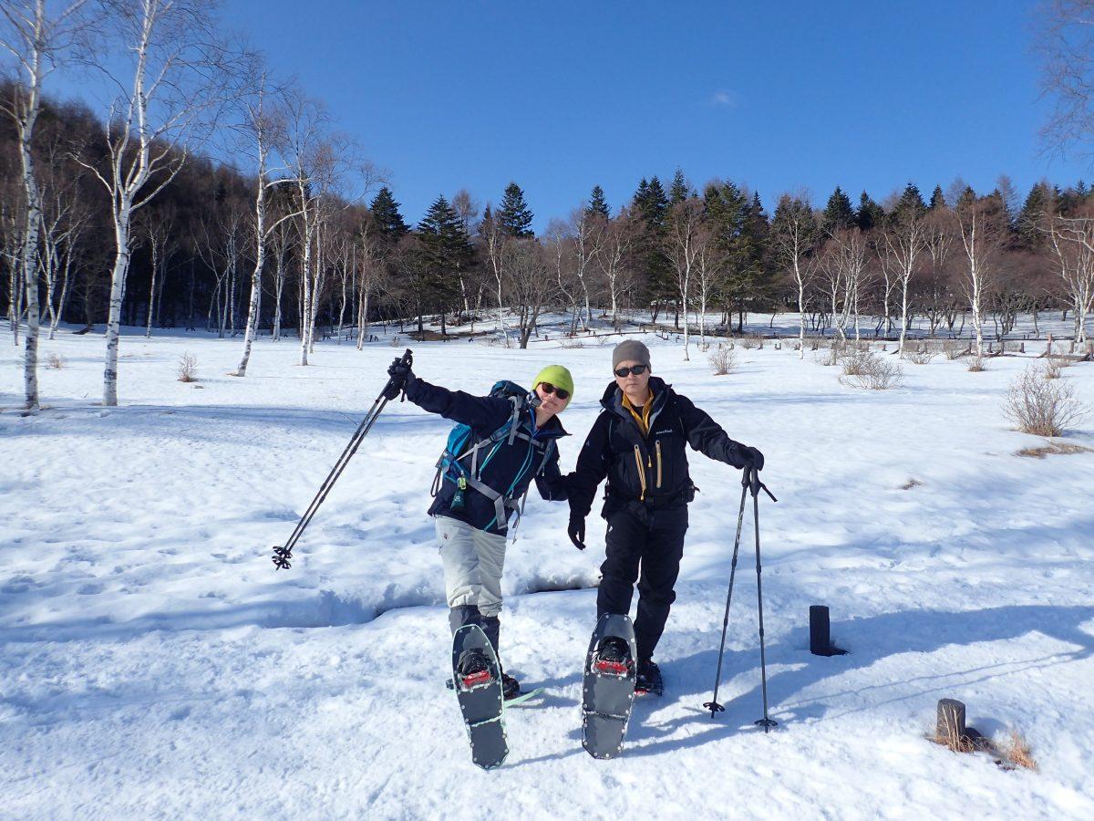 スノーシューハイキング!