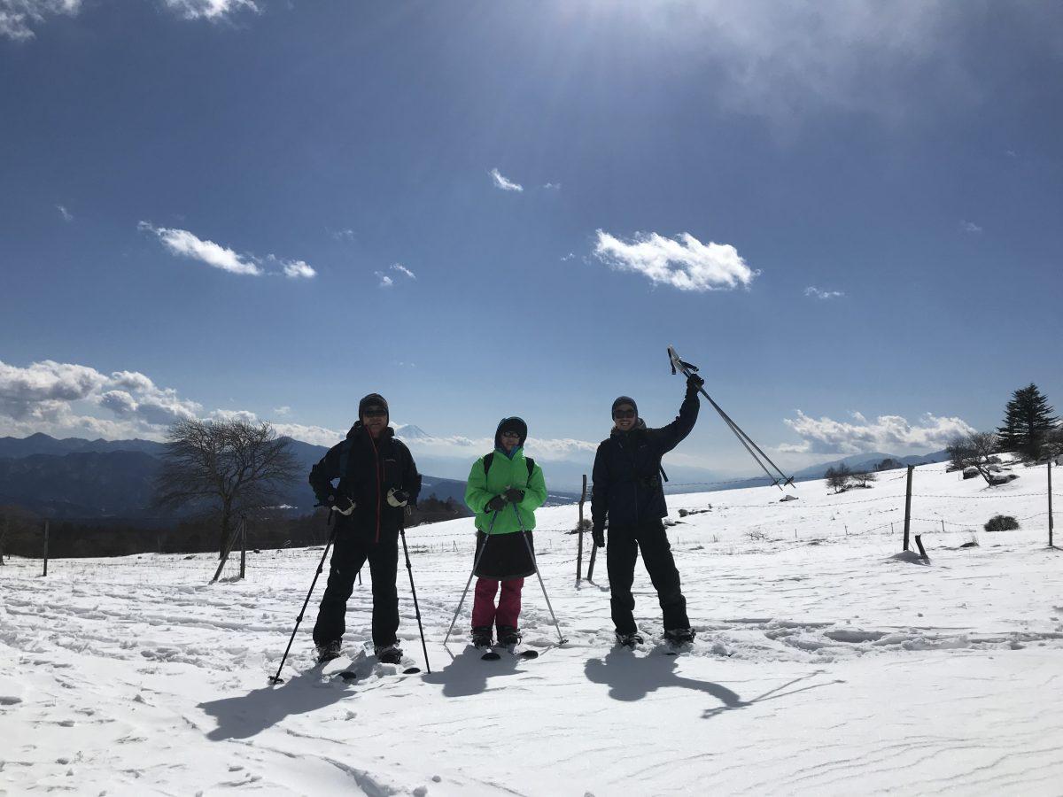 八ヶ岳観光圏モニタリングツアー スキーシューの巻