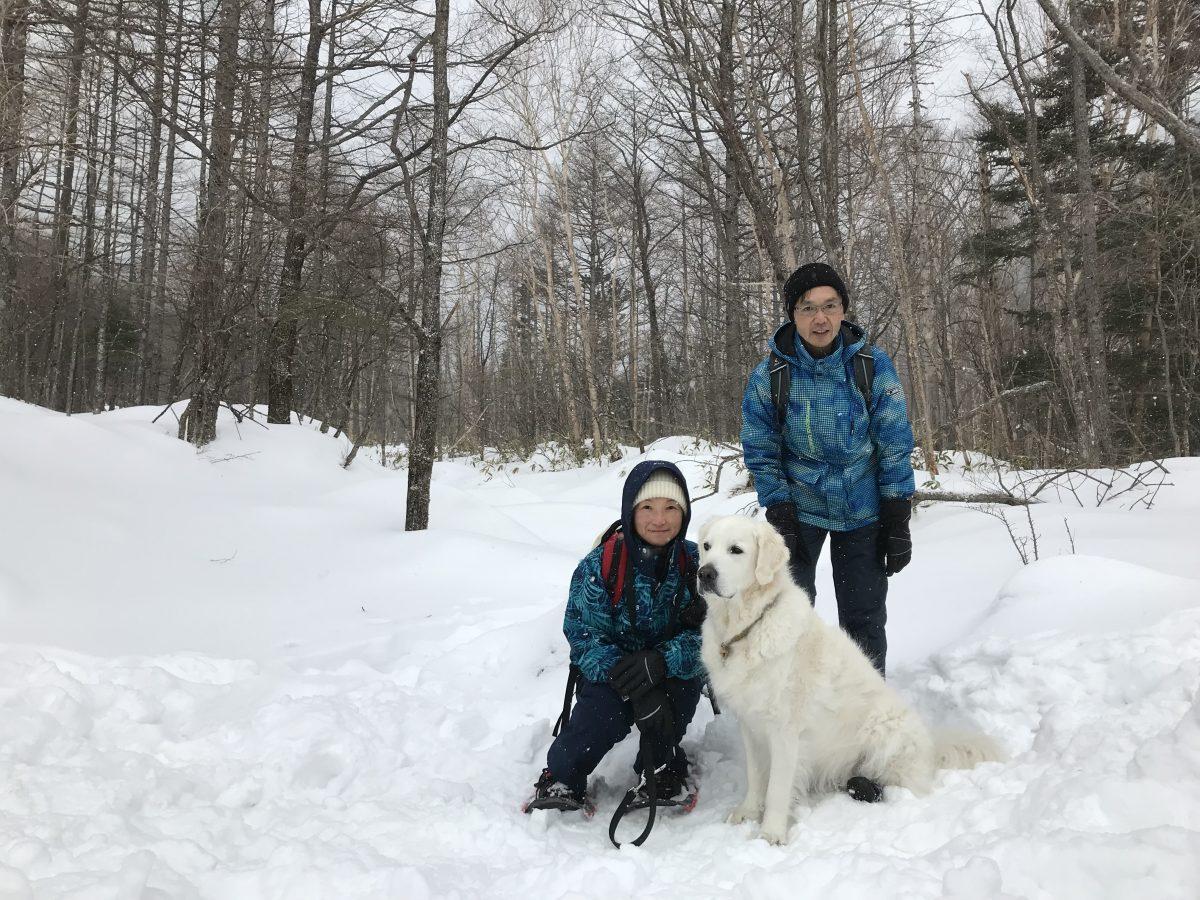 湘南ボーイは雪遊びも大好き!