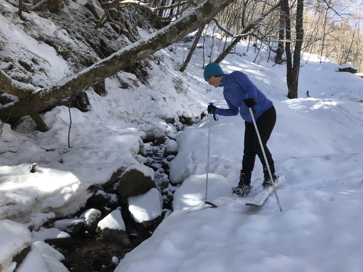 スキーシュールート開拓?!