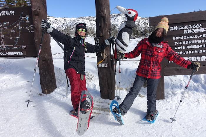 2019年初ツアーは北八ヶ岳スノーシュー