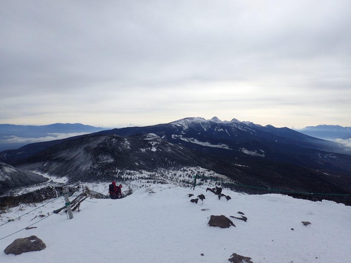 雪山登山入門で北横岳へ!