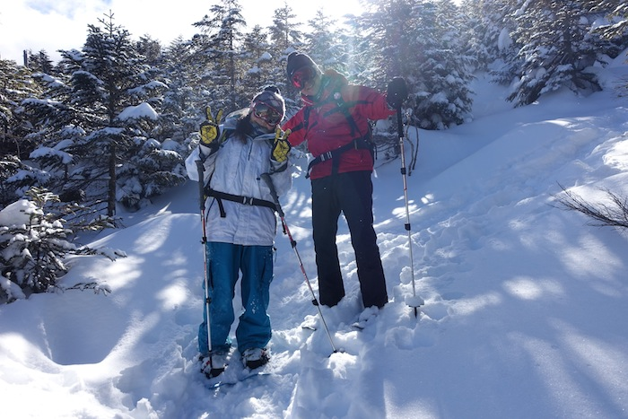 新雪の北八ヶ岳スノーシュー!