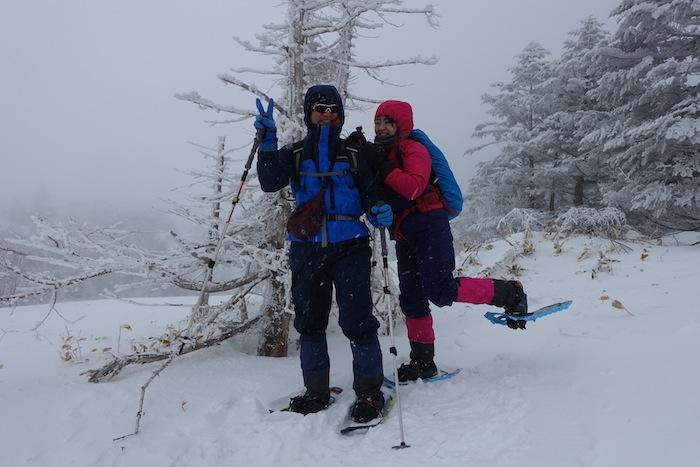 標高2200mの洗礼。吹雪の北八ヶ岳スノーシュー